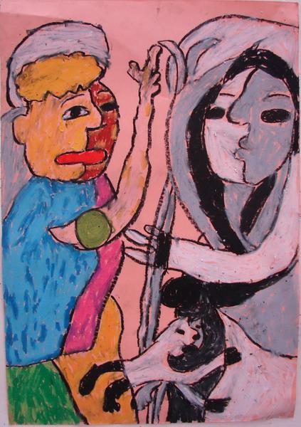 毕加索抽象画 毕加索抽象画作品 毕加索抽象画图片大全